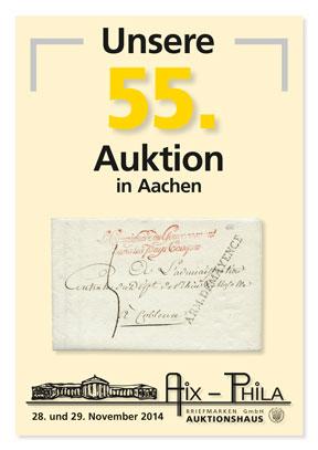 Katalog 55. Briefmarken- und Münzauktion