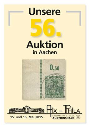 Katalog 56. Briefmarken- und Münzauktion