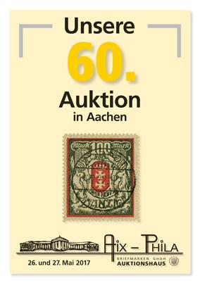 Katalog 60. Briefmarken- und Münzauktion